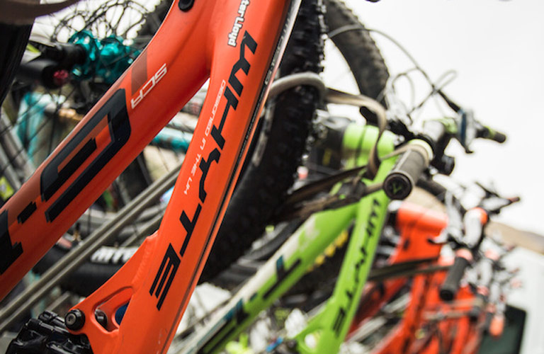Bikes from Orange, Whyte, Giant and Cube, Off Beat Bikes, Fort William