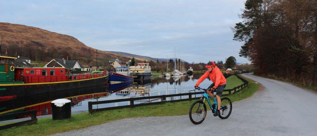 Cycle Routes by the Caledonian Canal - Sustrans Route 78