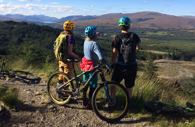 Mountain Bike Route, Fort William