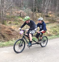 Tandem Cycling, Fort William