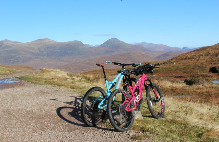 Mountain biking, fort william