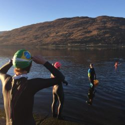 Open Water Swim by Fort William