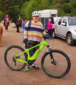 Mandy Watson, Cube Electric Bike