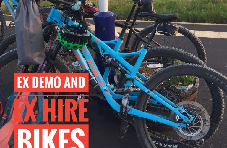 Ex demo and ex hire bikes on sale