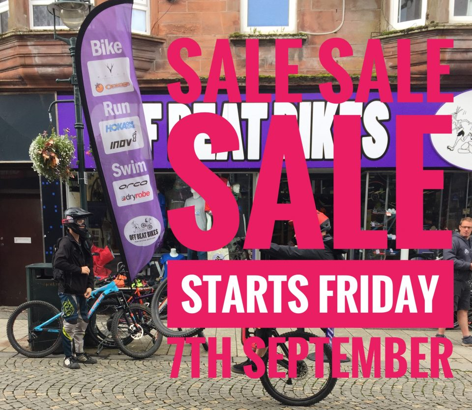 Sale at Off Beat Bikes